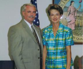 Freddie and his wife, Lynn