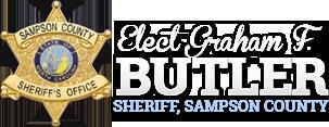Freddie Butler for Sheriff